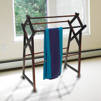 D-Art Collection Free Standing Cross Towel Rack