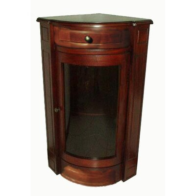 Short 1 Door Accent Cabinet