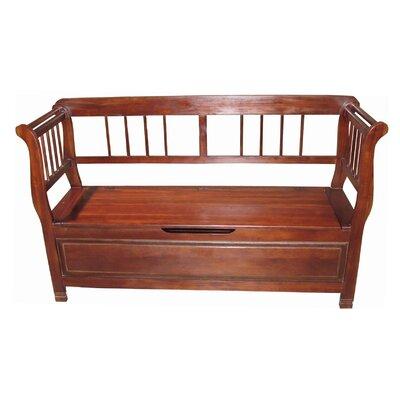 Lift Wood Storage Bench
