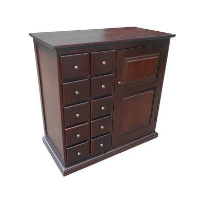 Truxton 10 Drawer 1 Door Accent Cabinet