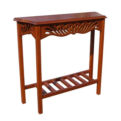 Greenlawn Mahogany Entrance Console Table