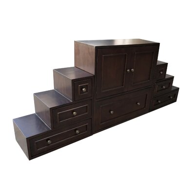 Haubert 7 Drawer Accent Cabinet