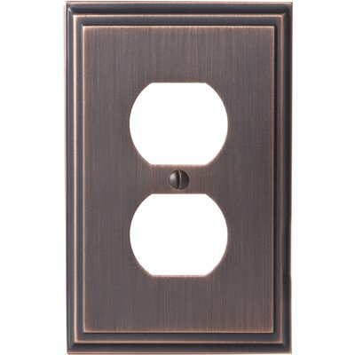 Mulholland Plug Outlet Wallplate Finish: Oil-Rubbed Bronze