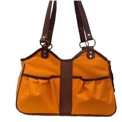 """Metro 2 Pet Carier Color: Orange, Size: Large (11.5"""" H x 8.5"""" W x 20.5"""" L)"""