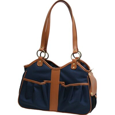 """Metro 2 Pet Carrier Size: Small (9"""" H x 8"""" W x 17"""" L), Color: Navy"""