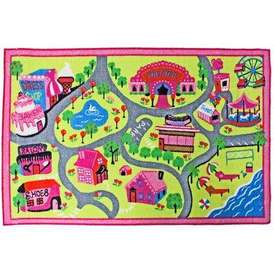 Juvenile Town Fun Floor Mat