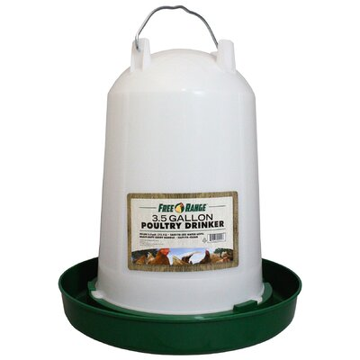 Ashlee Poultry Water Fountain Size: 3.5 Gallon