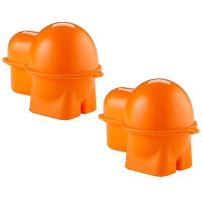 Egg To-Go Bento Box Specialty Food Storage Color: Orange