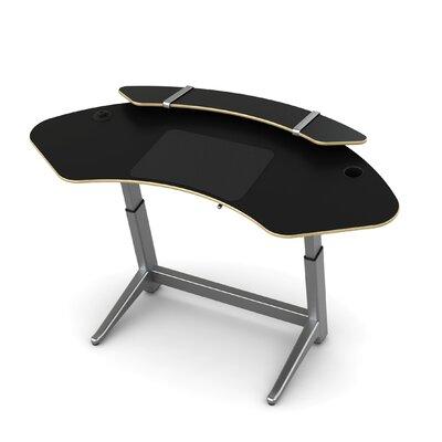 Sphere U-Shape Standing Desk Color: Matte Black