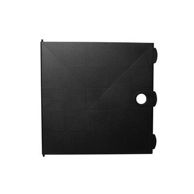 """12.8"""" H x 12.8"""" W Shelving Unit Color: Black"""
