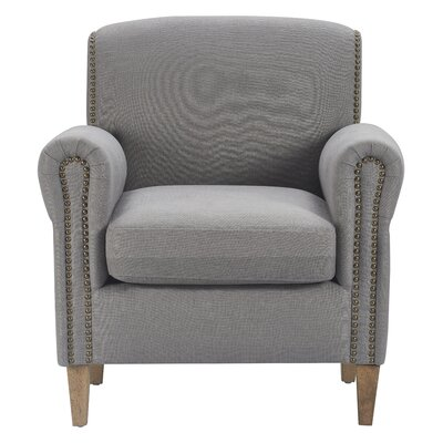 Augustin Armchair Upholstery: Antique Gray