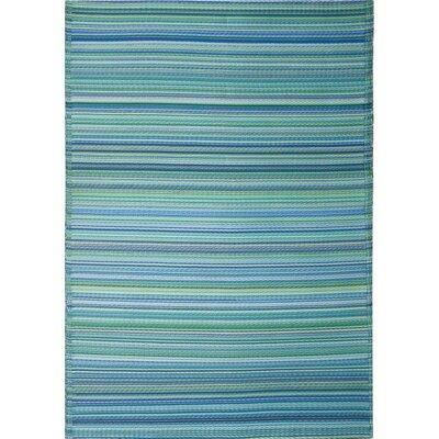 Green Decore Blue/Green Indoor/Outdoor Area Rug