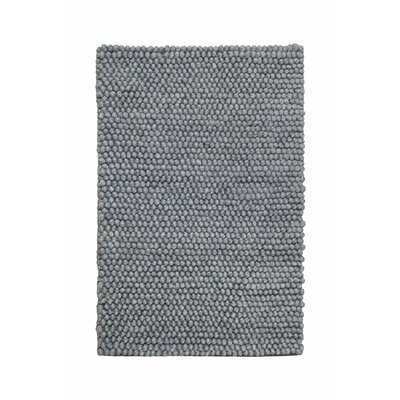 Green Decore Eternity Hand-Woven Grey Area Rug