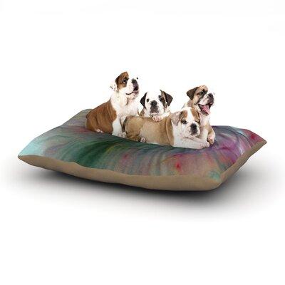 """Alison Coxon 'Fleur' Dog Pillow with Fleece Cozy Top Size: Small (40"""" W x 30"""" D x 8"""" H)"""