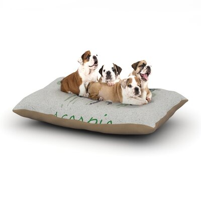 "Belinda Gillies 'Scorpio' Dog Pillow with Fleece Cozy Top Size: Small (40"" W x 30"" D x 8"" H)"