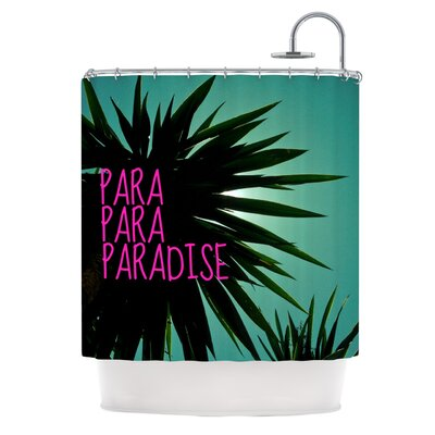 'Exotic Paradise' Shower Curtain