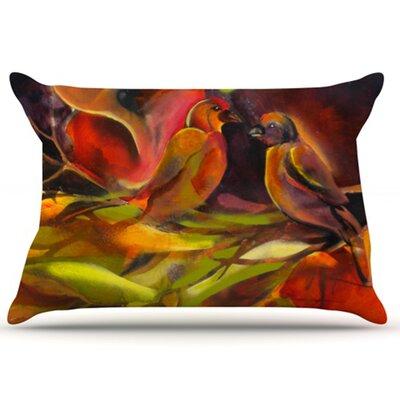 KESS InHouse Mirrored in Nature Pillowcase