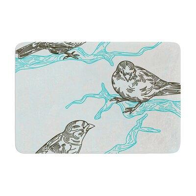 Sam Posnick Birds in Trees Memory Foam Bath Rug