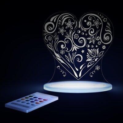 Aloka Tischlicht Herz
