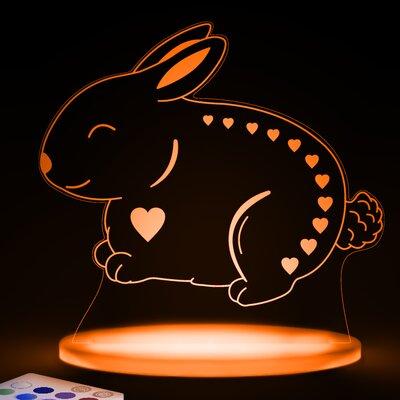 Aloka 16 cm Tischleuchte Hase Aloka Sleepy Light
