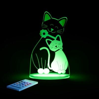 Aloka Tischlicht Katze