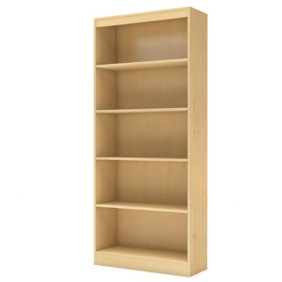 Axess Standard Bookcase Finish: Natural Maple