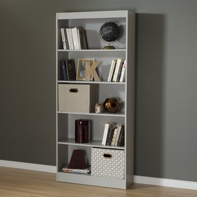 Axess Standard Bookcase Finish: Soft Gray