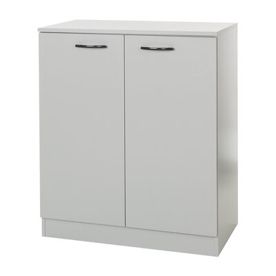 Axess 2 Door Accent Cabinet Color: Soft Gray