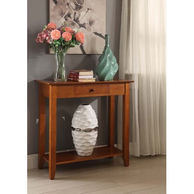 Williams Console Table Color: Cherry