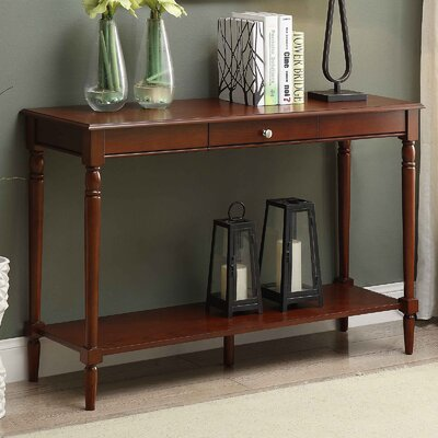 Callery Console Table Top Finish: Espresso