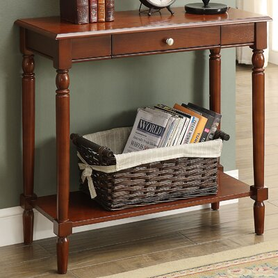 Carlisle Console Table Color: Espresso