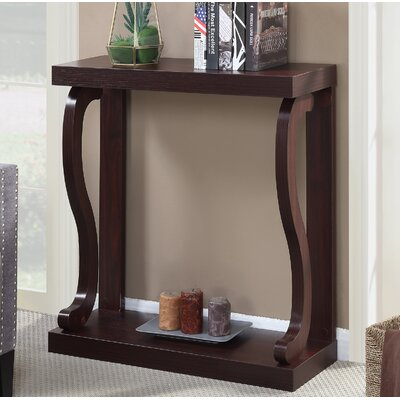 Gallego Melton Console Table Color: Mahogany