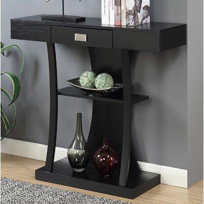 Springmont Console Table Color: Black