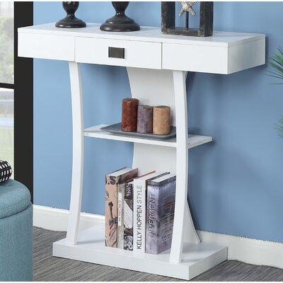 Springmont Console Table Color: White