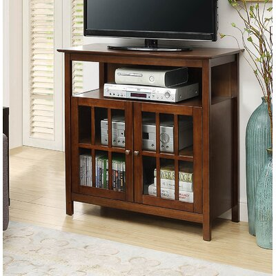"Tiana 36"" TV Stand Color: Dark Walnut"
