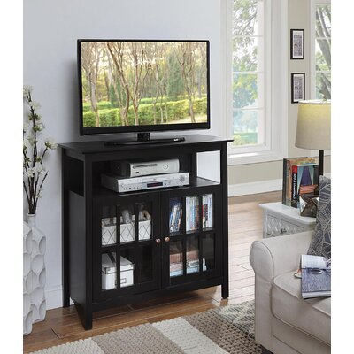 "Tiana 36"" TV Stand Color: Black"