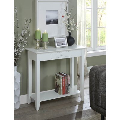 Williams Console Table Color: White