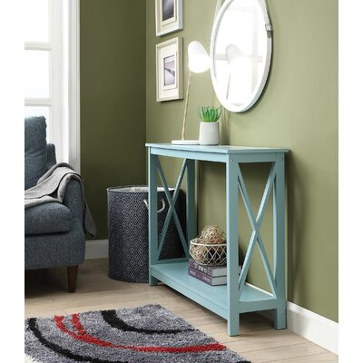 Stoneford Console Table Color: Sea Foam