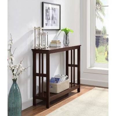 Cade Console Table Color: Expresso