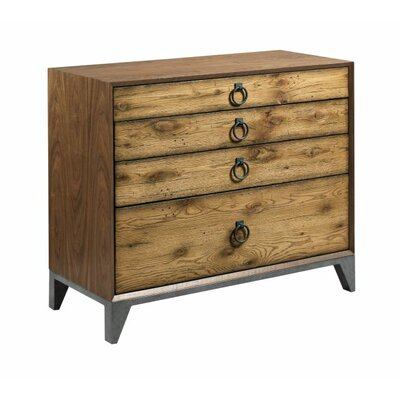 Maura Lumber Bunching 4 Drawer Accent Chest