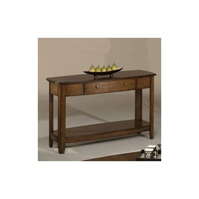 Hassania Console Table Color: Brown