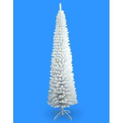 Jolly Workshop 7' White Pencil Artificial Christmas Tree