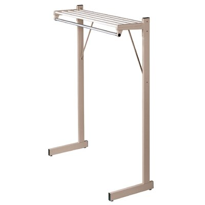 "Single-Sided Floor Rack Color: Sandstone, Size: 36"" W"