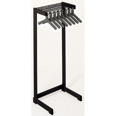 "Office Rak Floor Rack Color: Black, Size: 24"" W"