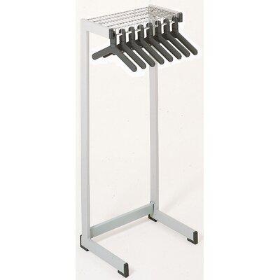 "Office Rak Floor Rack Color: Medium Gray, Size: 24"" W"