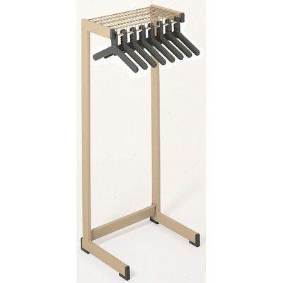 """Office Rak Floor Rack Size: 24"""" W, Color: Sandstone"""