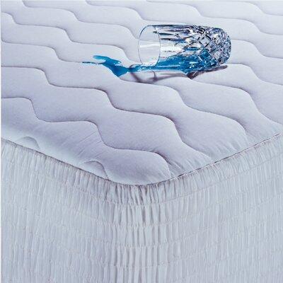 Polyester Waterproof Mattress Pad Size: Full
