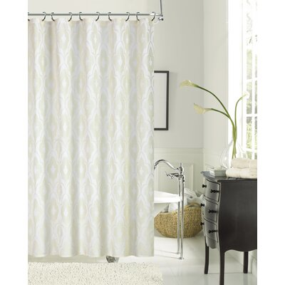 Gramercy Park Shower Curtain Color: Ivory