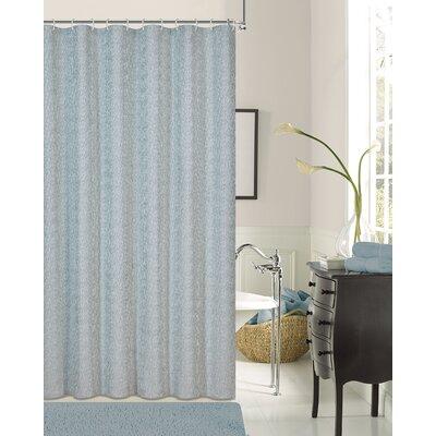 Kingston Shower Curtain Color: Blue