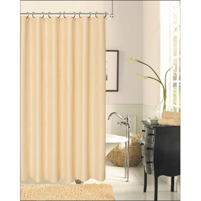 Sophia Shower Curtain Color: Ivory
